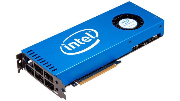 placas gráficas Intel