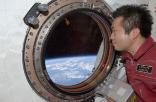 Japanese Astronaut Craves Sushi