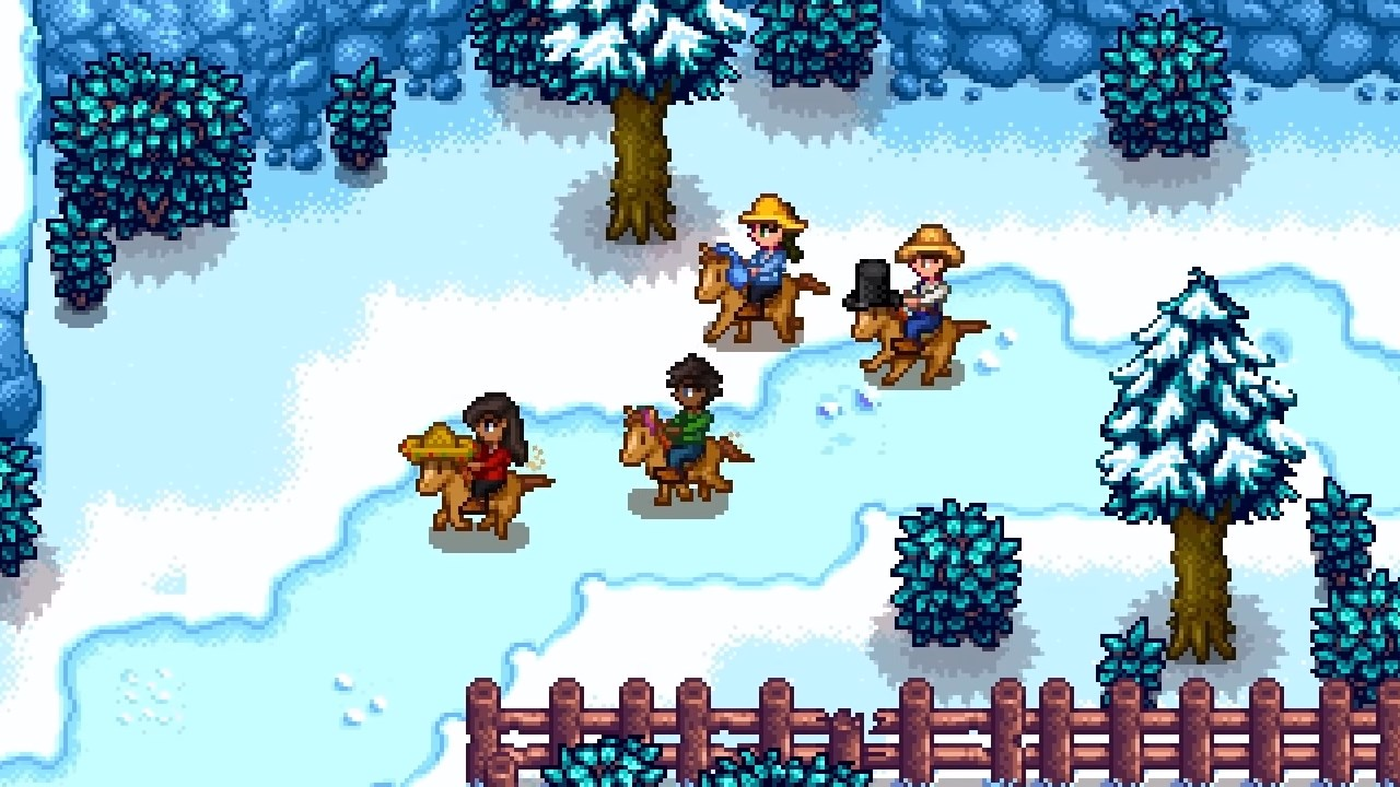 Stardew Valley multiplayer for PC is officially launching in August