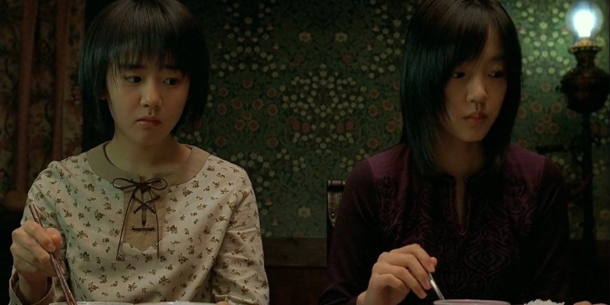 Im Soo-jung and Moon Geun-young in A Tale Of Two Sisters
