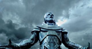 Oscar Isaac as Apocalypse in the X-Men movie.