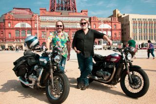 The Hairy Bikers Go North sees the pals heading to Blackpool.