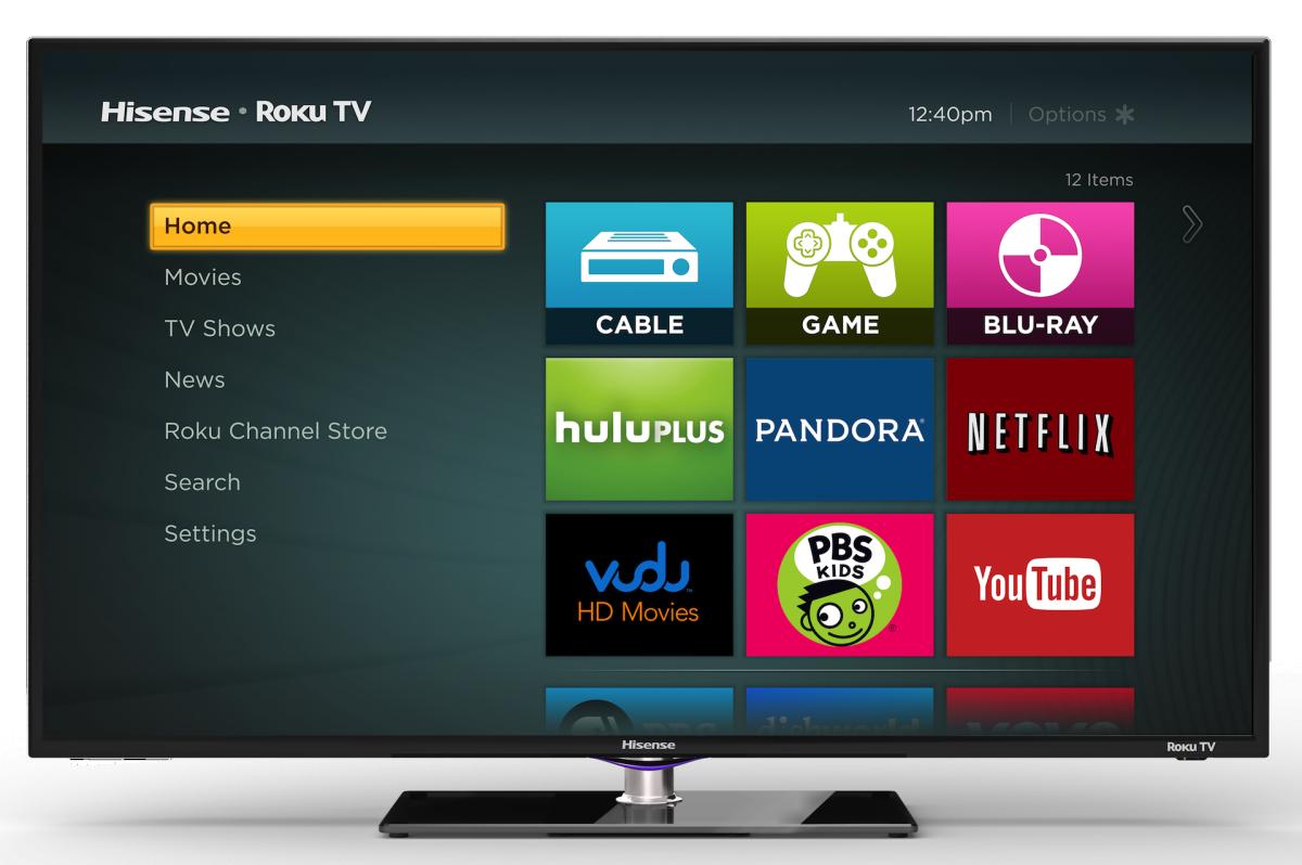 """32/"""" Class Hisense H4 Series HDTV Roku TV LED 720p Smart"""