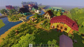 Stardew Valley's Pelican Town remade in Minecraft