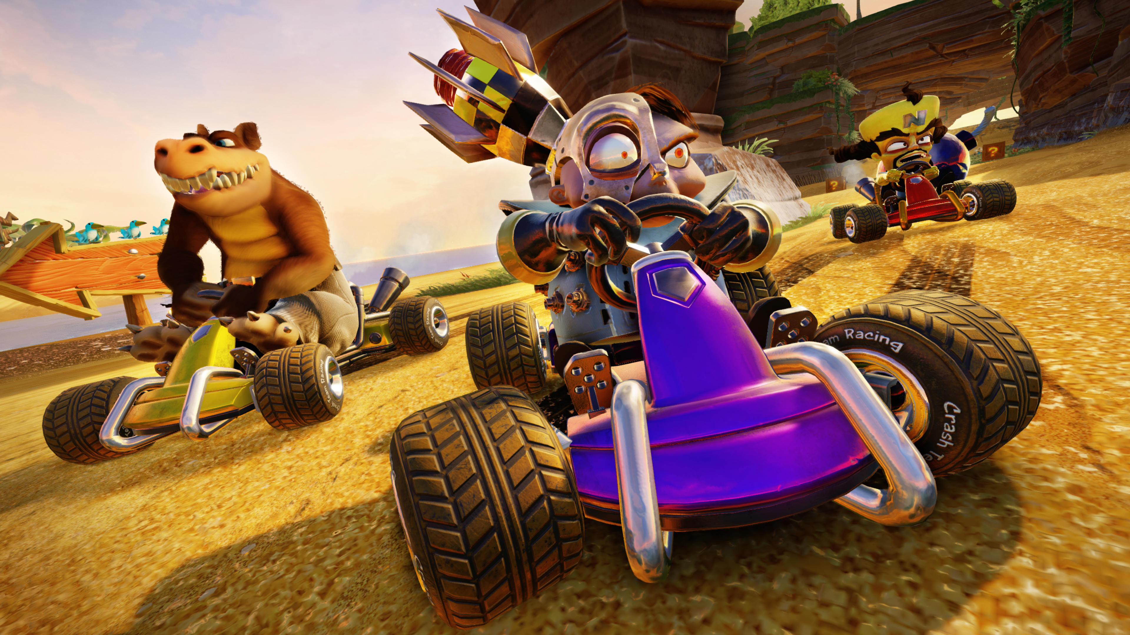 Best Crash Team Racing characters: Who are the top racers in Nitro