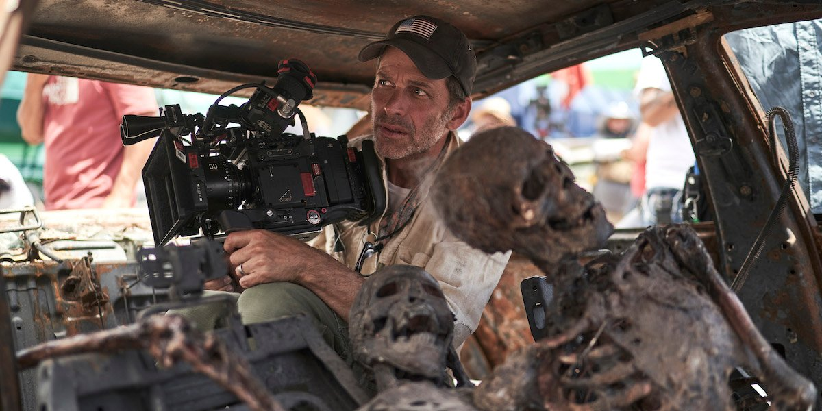 Zack Snyder directing Netflix's Army of the Dead