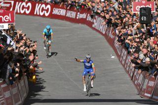 Julian Alaphillipe won the 2019 Strade Bianche