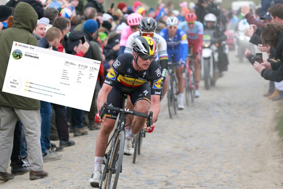 Strava stats reveal how gruelling Paris-Roubaix really is
