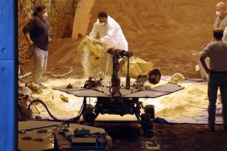 Mars Rover: Digging Out Of Tough Terrain