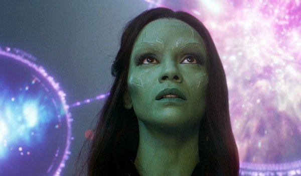 Gamora Zoe Saldana Guardians of the Galaxy