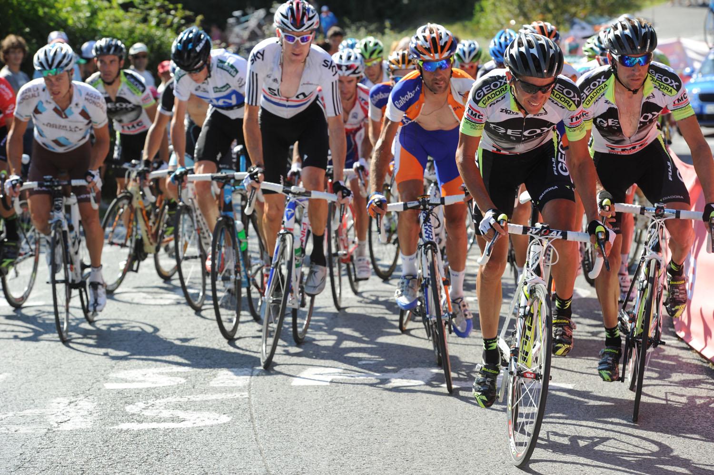 Carlos Sastre heads Geox, Vuelta a Espana 2011, stage 19