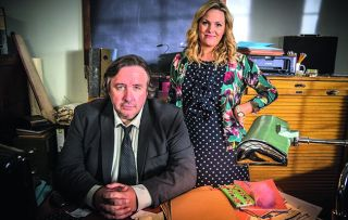 Jo Joyner and Mark Benton star in this new daytime weekday drama, brought together when Lu Shakespeare (Jo) asks private investigator Frank Hathaway (Mark) to find out if her fiancé is having an affair.