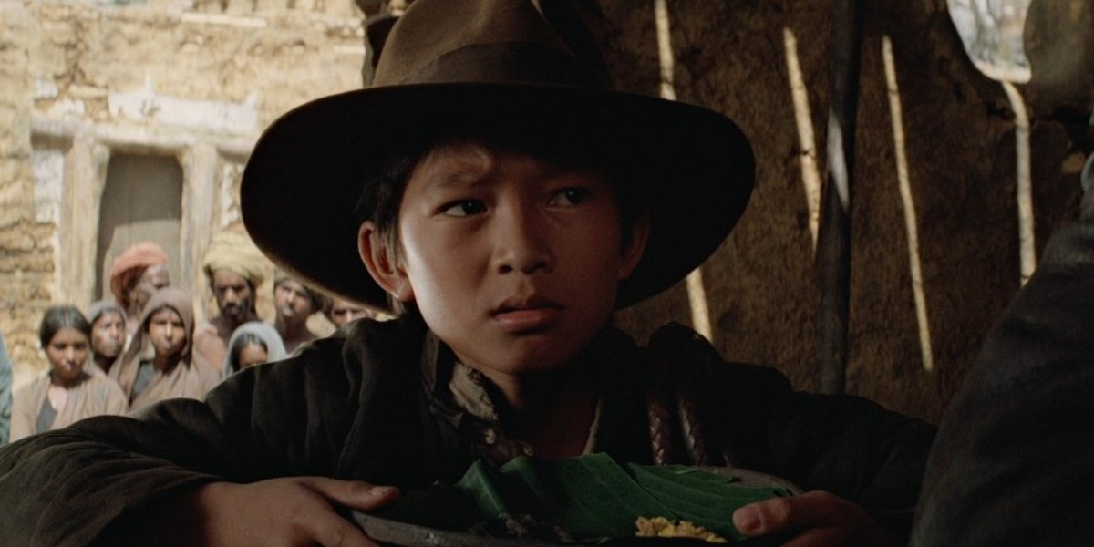 Ke Huy Quan as Short Round in Indiana Jones and the Temple of Doom