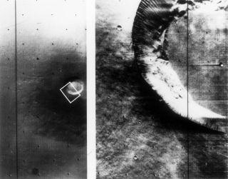 Mariner 9 sees Mars' volcano