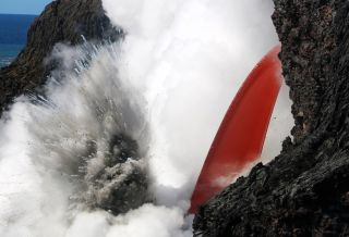 firehose of lava