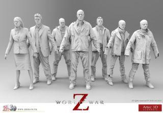WWZ 3D scans