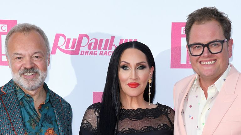 RuPaul's Drag Race: Graham Norton, Michelle Visage and Alan Carr attend the Ru Paul's Drag Race UK Launch on September 17, 2019 in London, England.