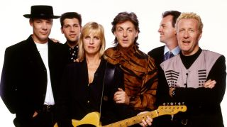 Paul McCartney's touring band in 1989