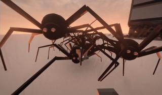 Giant spiders in Teardown.