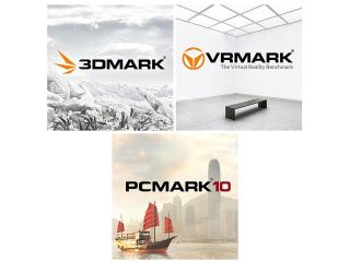 3DMark, VRMark and PCMark 10 cover art