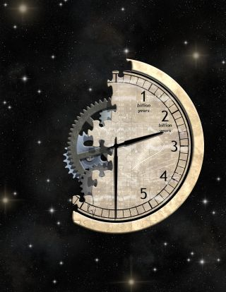 Artist's Impression of Cosmic Clock