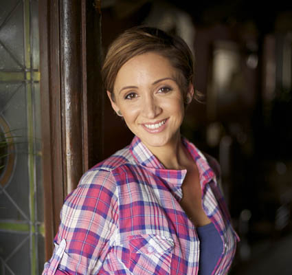 Lucy-Jo Hudson: 'Corrie made me gain weight'