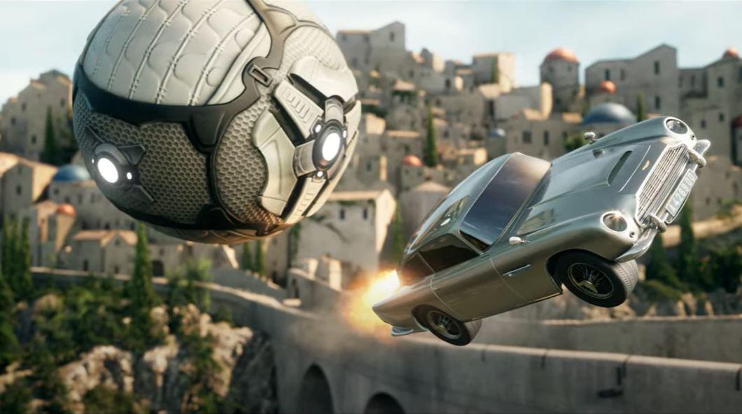 Rocket League gets James Bond's suave Aston Martin DB35
