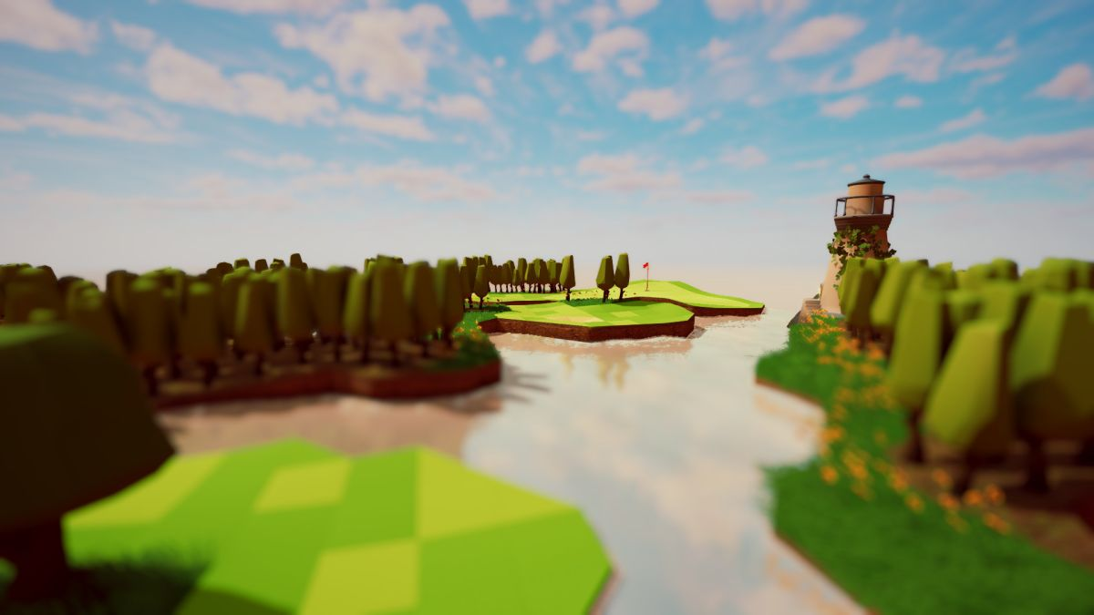 This is the chillest golf game you'll play all year