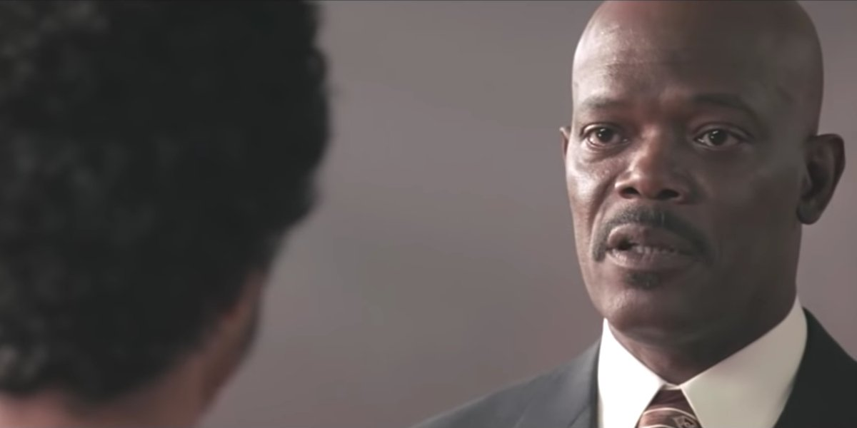 Samuel L. Jackson in Coach Carter