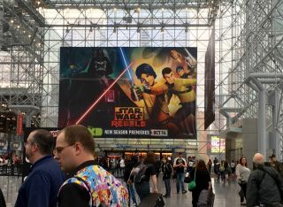 """Star Wars Rebels"" at New York Comic Con"