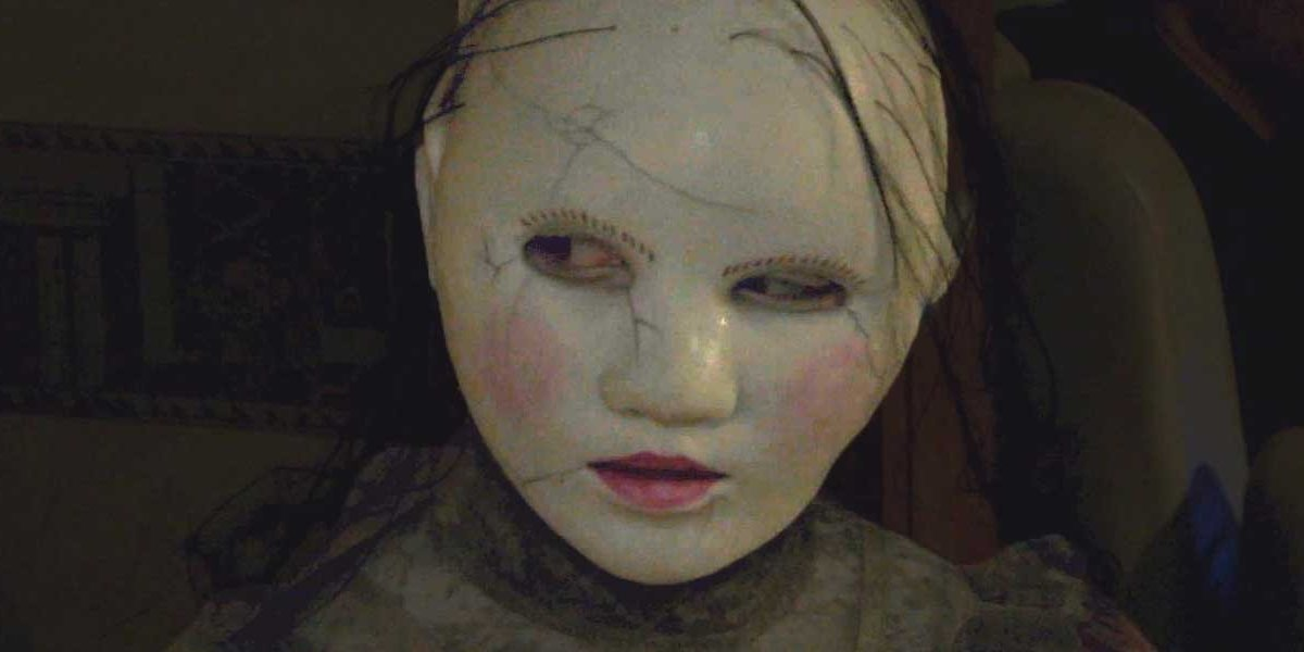 The freaky doll girl from The Houses October Built