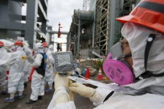 Testing at Fukushima, nuclear plant