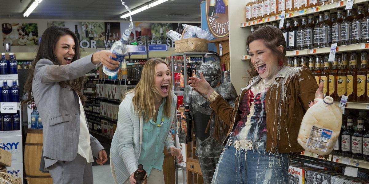 Kristen Bell, Mila Kunis, and Kathyrn Hahn in Bad Moms