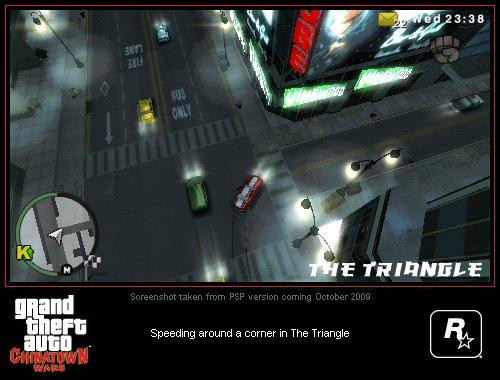 Grand Theft Auto: Chinatown Wars PSP Screenshots #9003