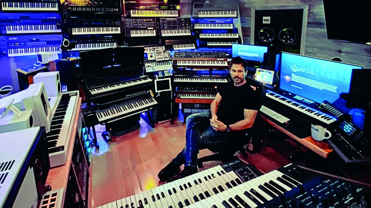 "BT: ""Synths like the Prophet-5 were built in Dave Smith's garage over a period of weeks… now they're just banged out in China."""