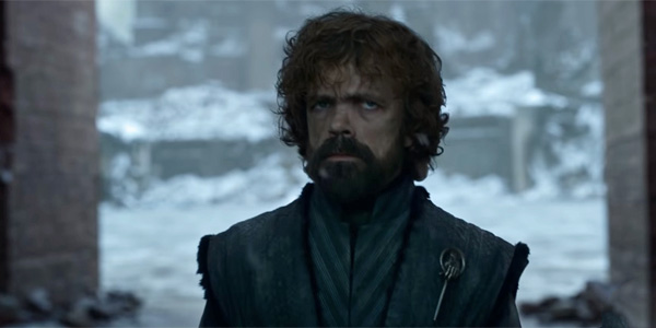 Tyrion finale of Game of Thrones screenshot