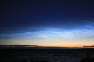 Noctilucent Clouds Above Ireland