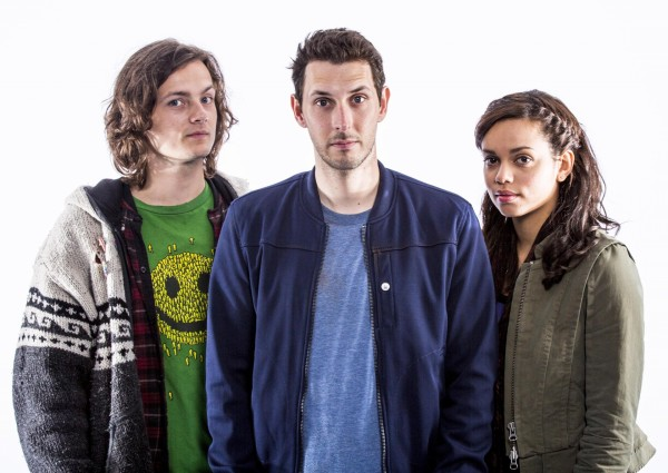 George Webster, Blake Harrison and Georgina Campbell star in Tripped