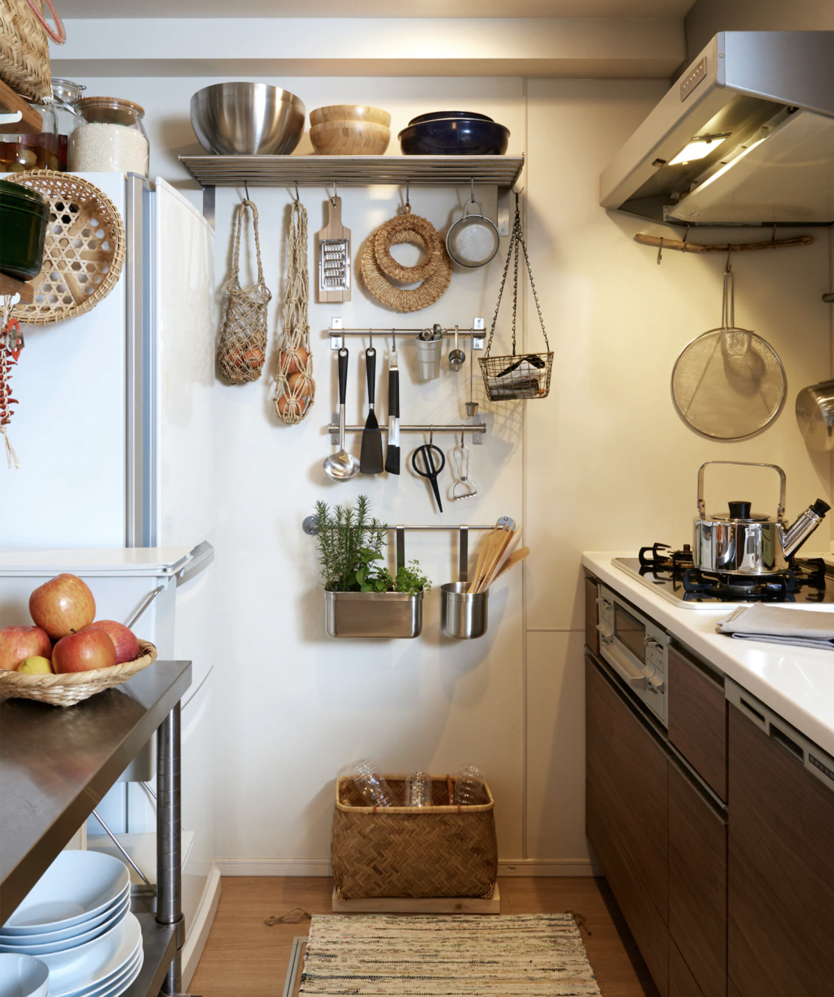 25 Storage Ideas For Small Kitchens Tips Tricks And Hacks To Organize A Tiny Space Real Homes