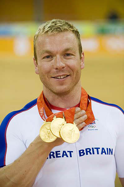 Chris Hoy Olympic Games 2008