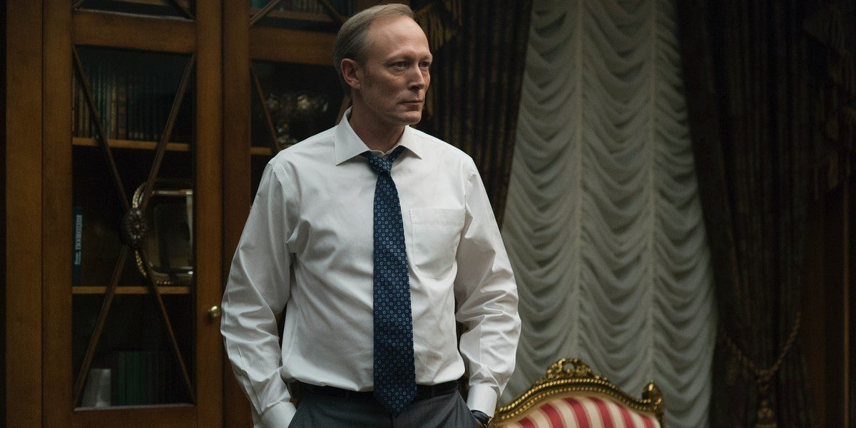 Lars Mikkelsen as Viktor Petrov on House of Cards