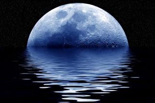 """Blue moon"" is an idea with a rich history."