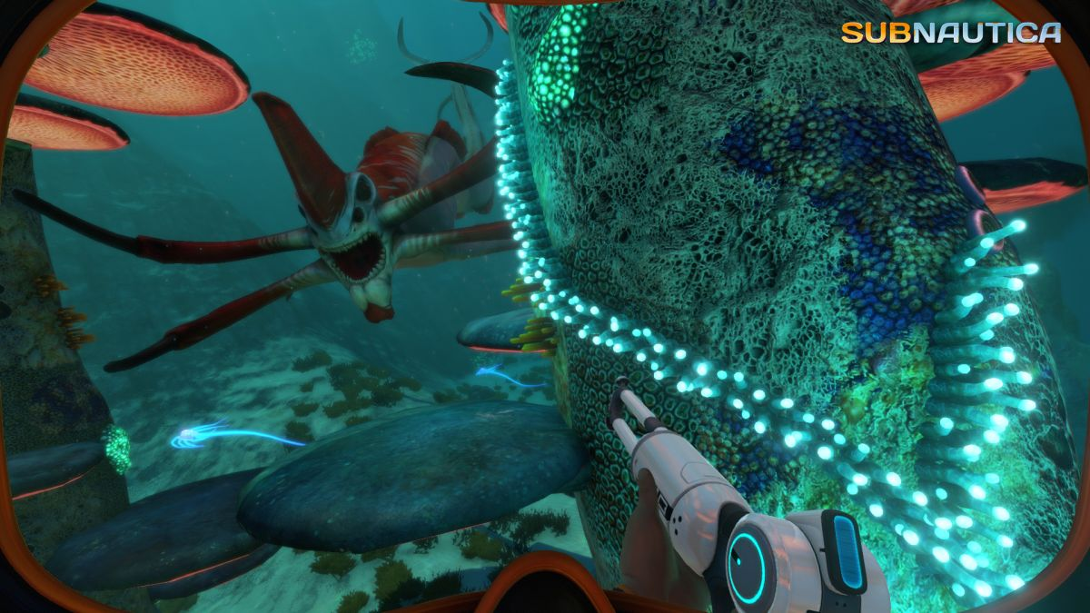 Great moments in PC gaming: Encountering leviathans in Subnautica