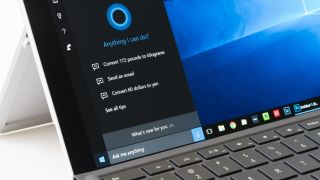 Cortana dans Windows 10