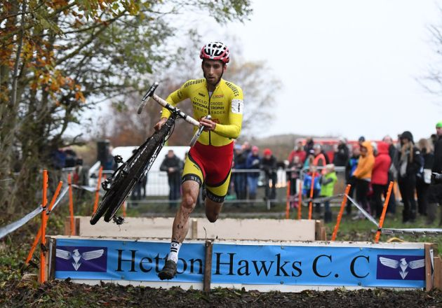 Ian Field, National Trophy Cyclocross 2016, Hetton Lyons Country Park