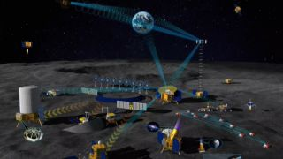 China and Russia will start preparation work for their future lunar research station this year.