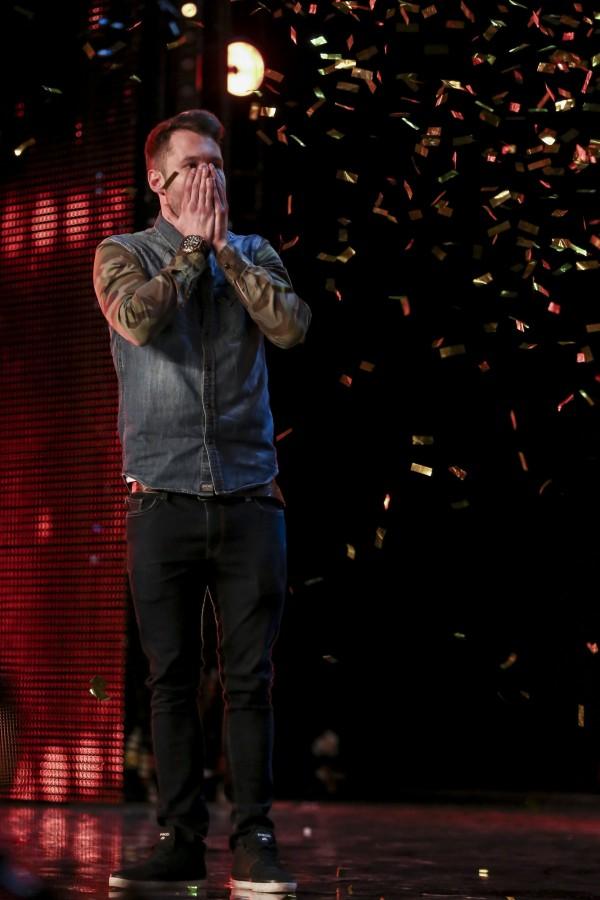 Calum can't believe he got through to the BGT finals (SYCO/THAMES TV)