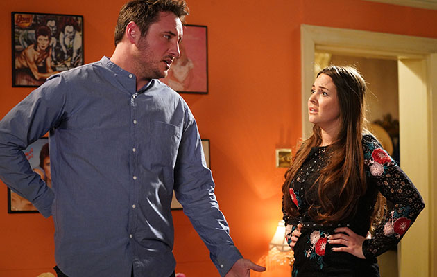Martin puts his back out and Stacey becomes close when she cares for him...