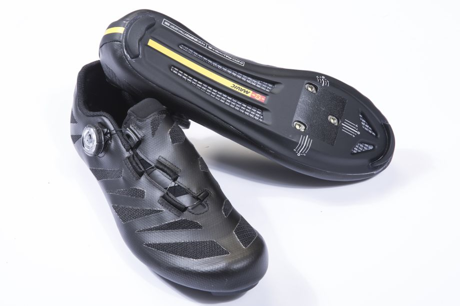 0a8206933869c6 Mavic Cosmic Ultimate shoes. Mavic's pro level shoes are comfortable, light  and efficient