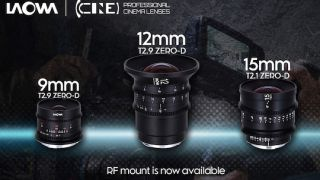 Venus Optics announces three new Laowa ultra-wide cine lenses for Canon RF mount